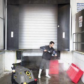 Μηχανήματα ( HDS ) υψηλής πίεσης ζεστού/κρύου νερού